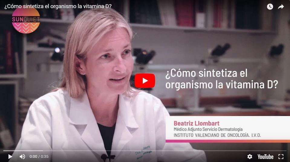 ¿Cómo sintetiza el organismo la vitamina D?