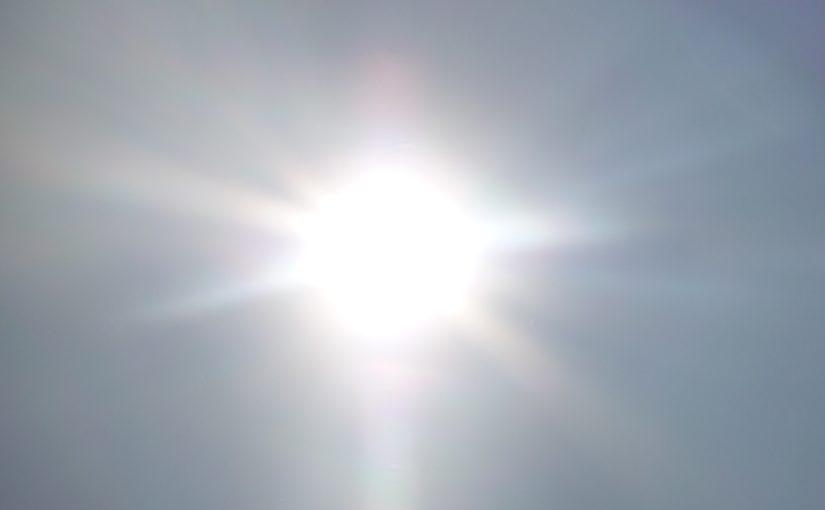 La radiación ultravioleta se dispara